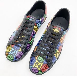 GUCCI PSYCHEDELIC ACE GG LOGO SUPREME SNEAKERS